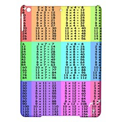 Multiplication Printable Table Color Rainbow Ipad Air Hardshell Cases by Alisyart