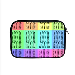 Multiplication Printable Table Color Rainbow Apple Macbook Pro 15  Zipper Case by Alisyart