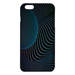 Line Light Blue Green Purple Circle Hole Wave Waves Iphone 6 Plus/6s Plus Tpu Case by Alisyart
