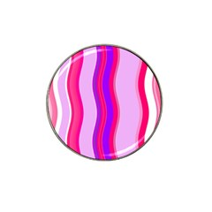 Pink Wave Purple Line Light Hat Clip Ball Marker (10 Pack) by Alisyart