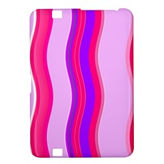 Pink Wave Purple Line Light Kindle Fire Hd 8 9  by Alisyart