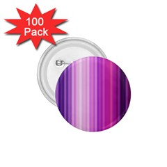 Pink Vertical Color Rainbow Purple Red Pink Line 1.75  Buttons (100 pack)  by Alisyart