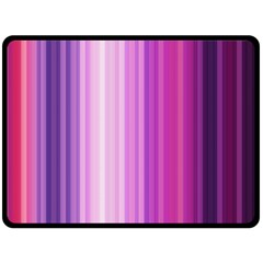 Pink Vertical Color Rainbow Purple Red Pink Line Double Sided Fleece Blanket (large)  by Alisyart