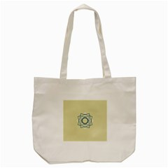 Shape Experimen Geometric Star Plaid Sign Tote Bag (cream) by Alisyart