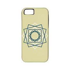 Shape Experimen Geometric Star Plaid Sign Apple Iphone 5 Classic Hardshell Case (pc+silicone) by Alisyart
