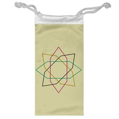Shape Experimen Geometric Star Sign Jewelry Bag by Alisyart
