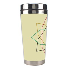 Shape Experimen Geometric Star Sign Stainless Steel Travel Tumblers by Alisyart