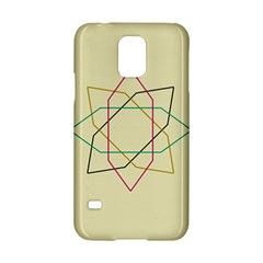 Shape Experimen Geometric Star Sign Samsung Galaxy S5 Hardshell Case  by Alisyart