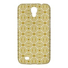 Gold Geometric Plaid Circle Samsung Galaxy Mega 6 3  I9200 Hardshell Case by Alisyart