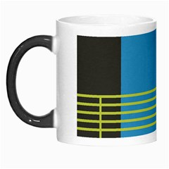 Sketches Tone Red Yellow Blue Black Musical Scale Morph Mugs by Alisyart