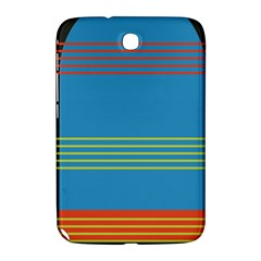 Sketches Tone Red Yellow Blue Black Musical Scale Samsung Galaxy Note 8 0 N5100 Hardshell Case  by Alisyart