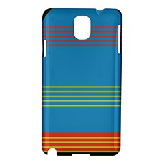 Sketches Tone Red Yellow Blue Black Musical Scale Samsung Galaxy Note 3 N9005 Hardshell Case by Alisyart