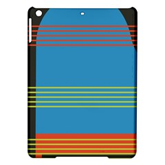 Sketches Tone Red Yellow Blue Black Musical Scale Ipad Air Hardshell Cases by Alisyart