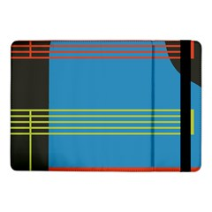 Sketches Tone Red Yellow Blue Black Musical Scale Samsung Galaxy Tab Pro 10 1  Flip Case by Alisyart