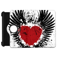 Wings Of Heart Illustration Kindle Fire Hd 7  by TastefulDesigns