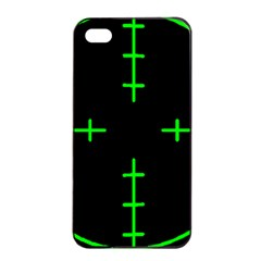Sniper Focus Apple Iphone 4/4s Seamless Case (black) by Alisyart