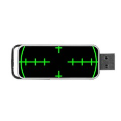 Sniper Focus Portable Usb Flash (one Side) by Alisyart