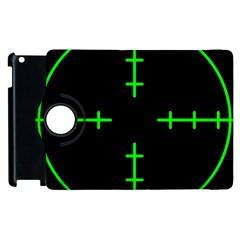 Sniper Focus Apple Ipad 3/4 Flip 360 Case by Alisyart