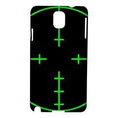 Sniper Focus Samsung Galaxy Note 3 N9005 Hardshell Case by Alisyart