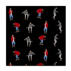 Drake Hotline Bling Black Background Face Towel by Onesevenart