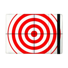 Sniper Focus Target Round Red Apple Ipad Mini Flip Case by Alisyart