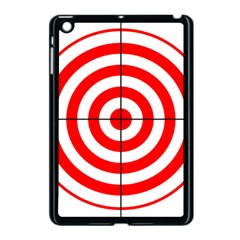 Sniper Focus Target Round Red Apple Ipad Mini Case (black) by Alisyart