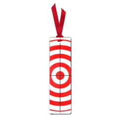 Sniper Focus Target Round Red Small Book Marks by Alisyart