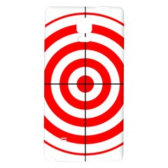 Sniper Focus Target Round Red Galaxy Note 4 Back Case by Alisyart