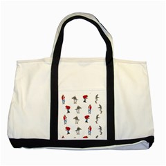 Hotline Bling Two Tone Tote Bag by Onesevenart