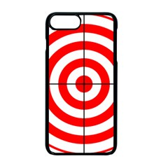 Sniper Focus Target Round Red Apple Iphone 7 Plus Seamless Case (black) by Alisyart
