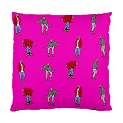 Hotline Bling Pink Background Standard Cushion Case (one Side) by Onesevenart