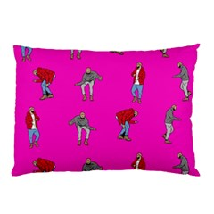 Hotline Bling Pink Background Pillow Case (two Sides) by Onesevenart