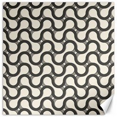 Shutterstock Wave Chevron Grey Canvas 16  X 16   by Alisyart