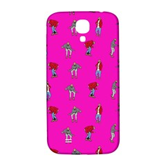 Hotline Bling Pink Background Samsung Galaxy S4 I9500/i9505  Hardshell Back Case by Onesevenart