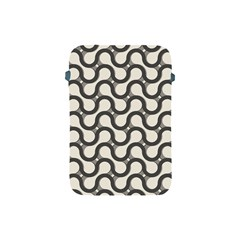 Shutterstock Wave Chevron Grey Apple Ipad Mini Protective Soft Cases by Alisyart