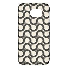 Shutterstock Wave Chevron Grey Galaxy S6 by Alisyart