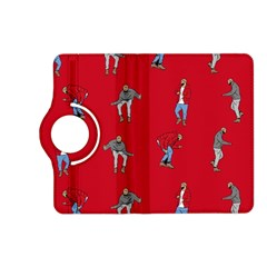 Hotline Bling Red Background Kindle Fire Hd (2013) Flip 360 Case by Onesevenart
