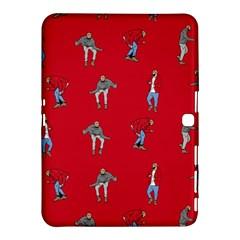 Hotline Bling Red Background Samsung Galaxy Tab 4 (10 1 ) Hardshell Case  by Onesevenart