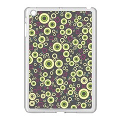 Ring Circle Plaid Green Pink Blue Apple Ipad Mini Case (white) by Alisyart