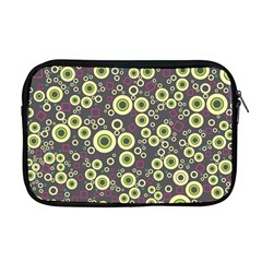 Ring Circle Plaid Green Pink Blue Apple Macbook Pro 17  Zipper Case by Alisyart