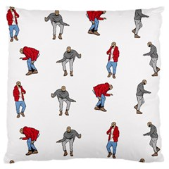 Hotline Bling White Background Large Cushion Case (one Side) by Onesevenart
