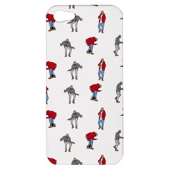 Hotline Bling White Background Apple Iphone 5 Hardshell Case by Onesevenart