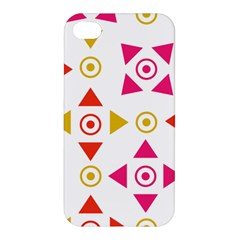 Spectrum Styles Pink Nyellow Orange Gold Apple Iphone 4/4s Hardshell Case by Alisyart