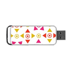 Spectrum Styles Pink Nyellow Orange Gold Portable Usb Flash (one Side) by Alisyart