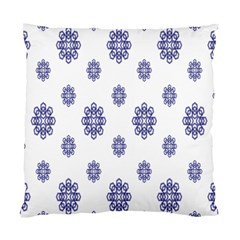 Snow Blue White Cool Standard Cushion Case (one Side) by Alisyart