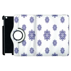 Snow Blue White Cool Apple Ipad 2 Flip 360 Case by Alisyart