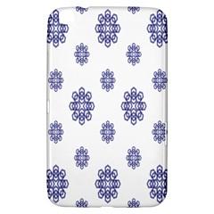 Snow Blue White Cool Samsung Galaxy Tab 3 (8 ) T3100 Hardshell Case  by Alisyart