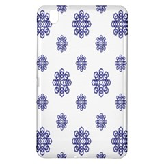 Snow Blue White Cool Samsung Galaxy Tab Pro 8 4 Hardshell Case by Alisyart