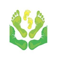 Soles Feet Green Yellow Family 5 5  X 8 5  Notebooks by Alisyart