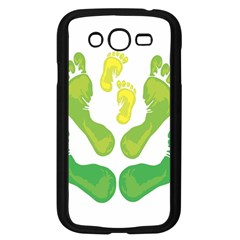 Soles Feet Green Yellow Family Samsung Galaxy Grand Duos I9082 Case (black) by Alisyart